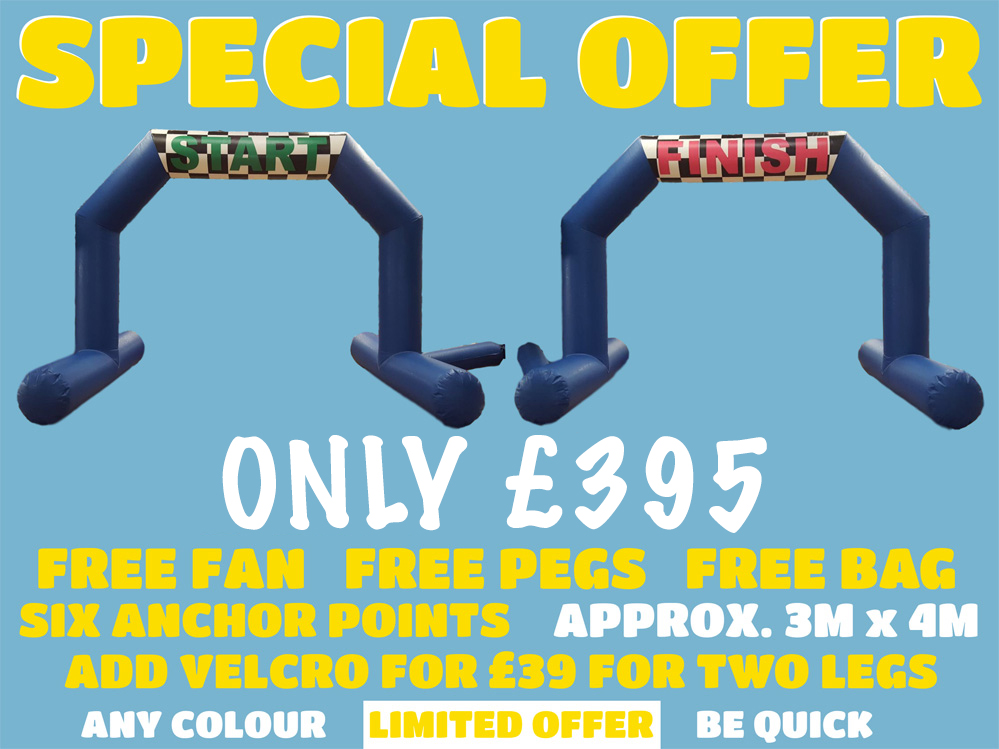Special Offer on Race Arches